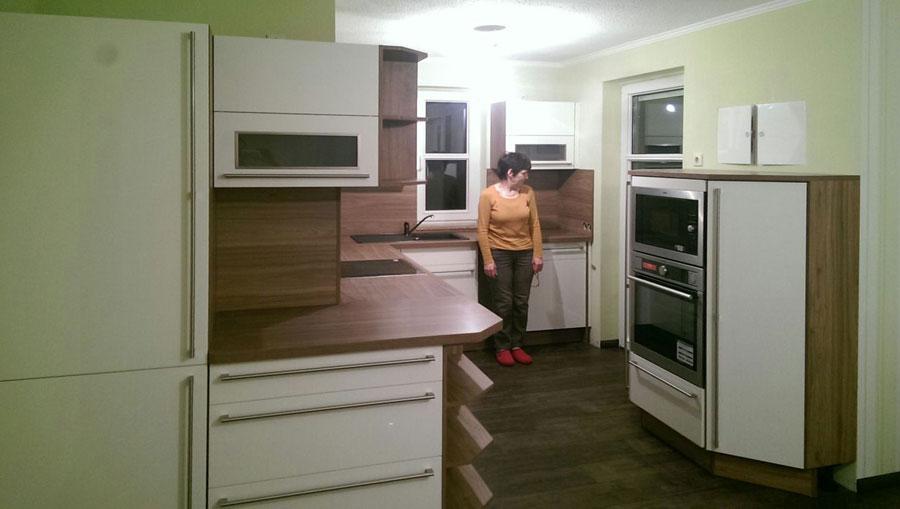 Montage und Aufbau von Küchen